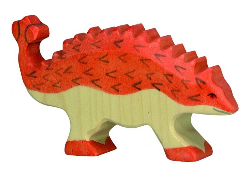 Holztiger Houten Dinosaurus: Ankylosaurus