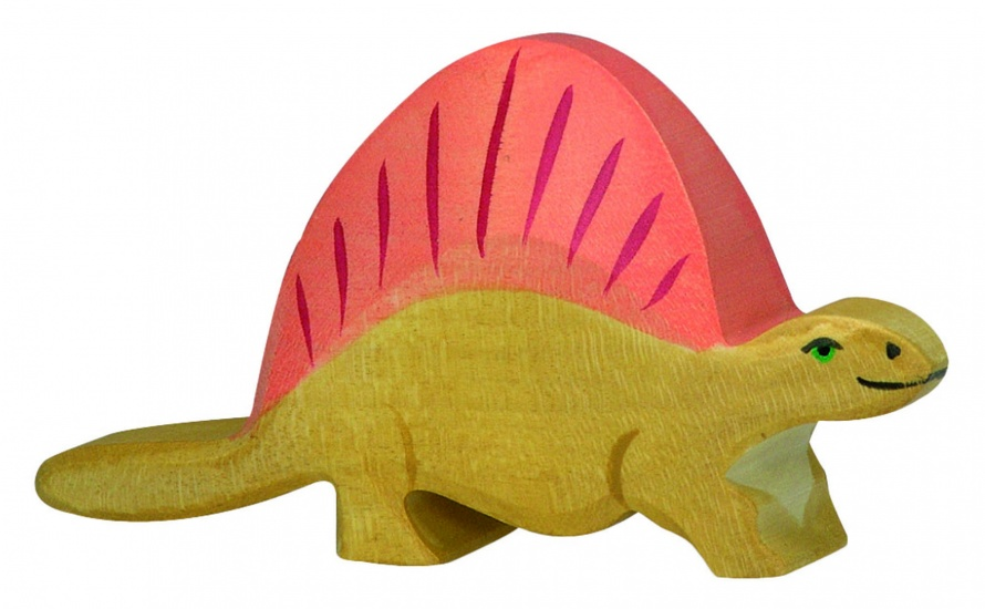 Holztiger Houten Dinosaurus: Dimetrodon