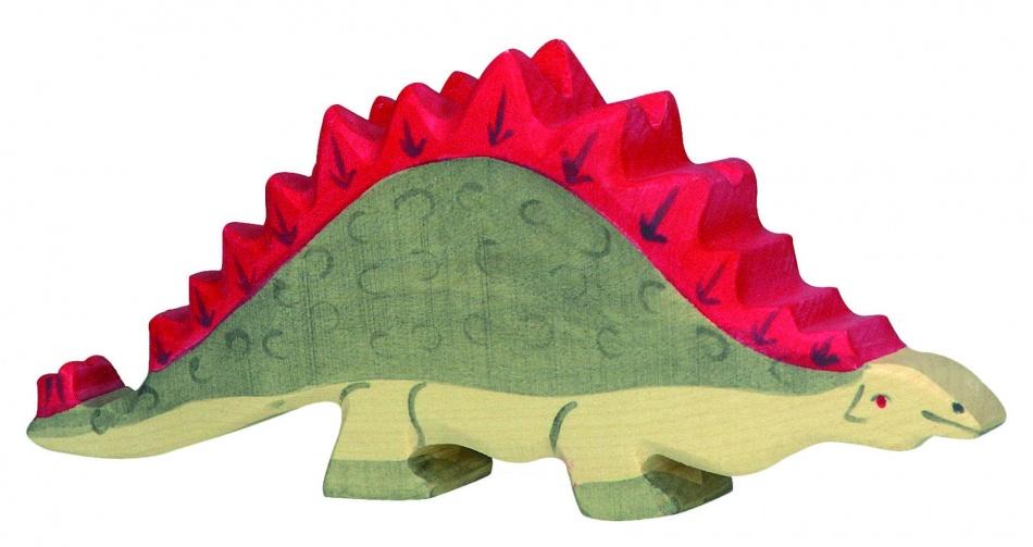 Holztiger Houten Dinosaurus: Stegosaurus