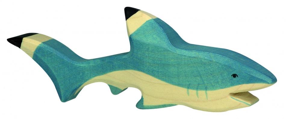 Holztiger Houten Haai