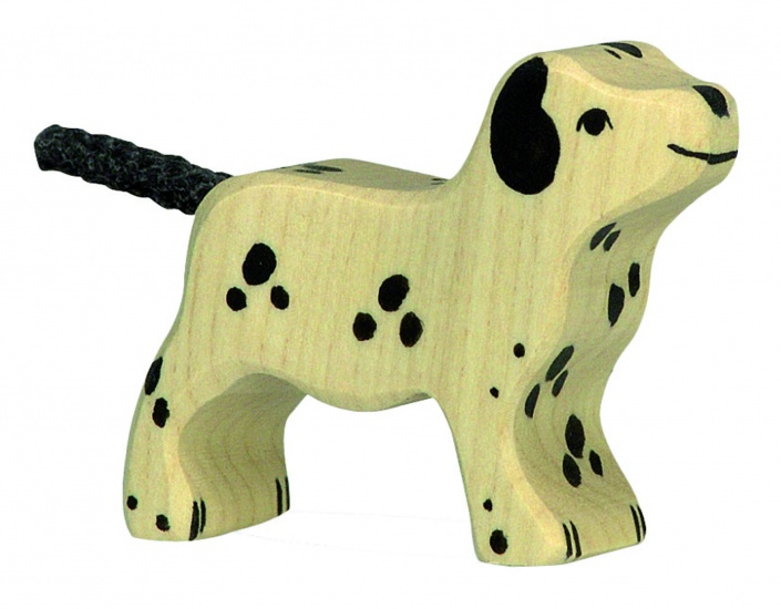 Holztiger Houten Lopende Dalmatier 6cm
