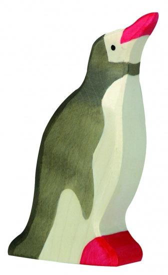 Holztiger Houten Pinguin Staand