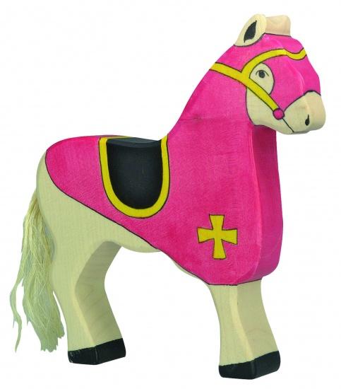 Holztiger Houten Sprookjes en Ridders: Paard Rood