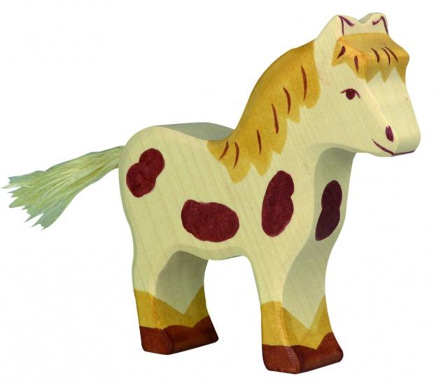Holztiger Houten Staande Pony