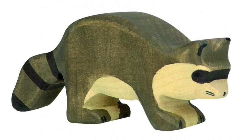 Holztiger Houten Wasbeer