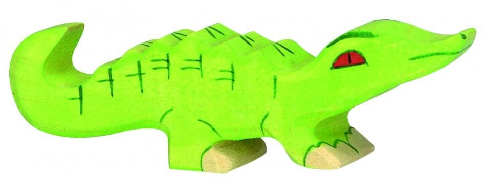 Holztiger Houten Wildernis: Kleine Krokodil