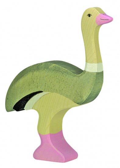 Holztiger Houten Wildernis: Struisvogel