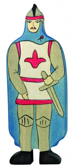 Holztiger Sprookjes en Ridders: Ridder Met Blauwe Mantel