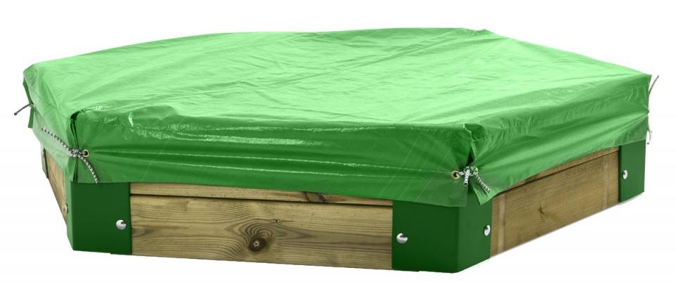 H�rby Bruk afdekhoes voor zandbak 150 van H�rby Bruk groen