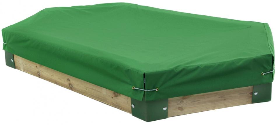 H�rby Bruk afdekhoes voor zandbak 210 van H�rby Bruk groen