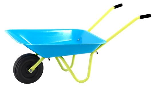 Hrby Bruk Kruiwagen Kind Blauw