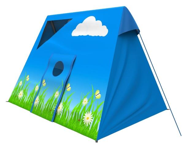 Hörby Bruk Schommel Tent Zomer Blauw