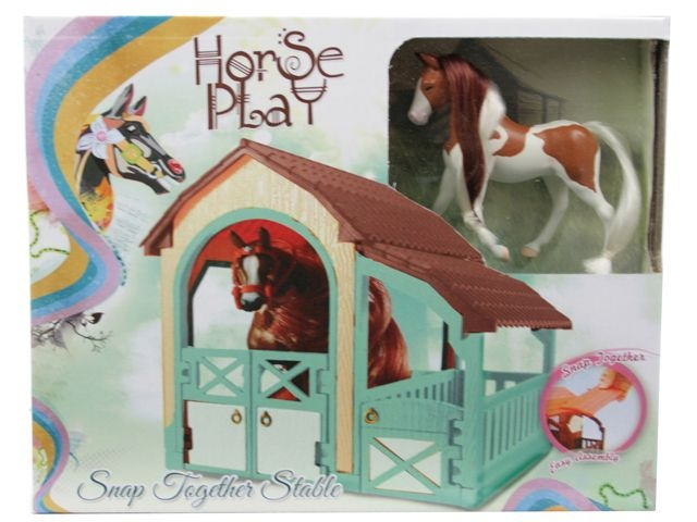 Horse Play Paarden Stal Speelset