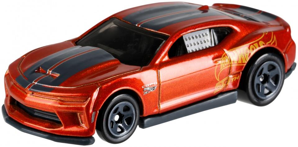 Hot Wheels '18 Copo Camaro 7,5 cm zwart