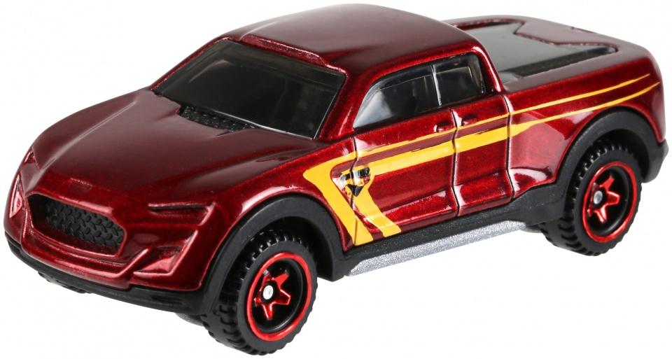 Hot Wheels 2 Tuff truck 8 cm rood