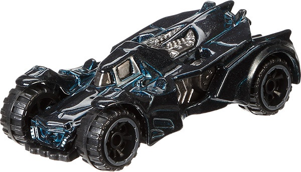 Hot Wheels Batman voertuigen: Arkham Knight Batmobile 8 cm