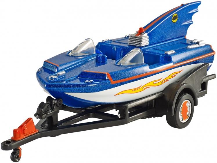 Hot Wheels Batman voertuigen: Batboat 7 cm