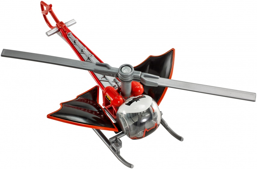 Hot Wheels Batman voertuigen: Batcopter 7 cm