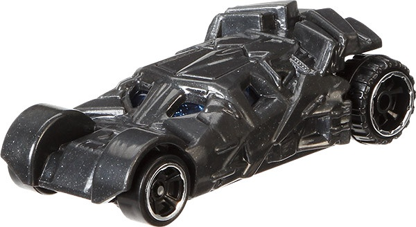Hot Wheels Batman voertuigen: Batman Begins Batmobile 8 cm