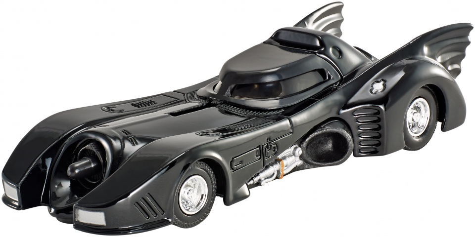 Hot Wheels Batman voertuigen: Batmobile 7 cm