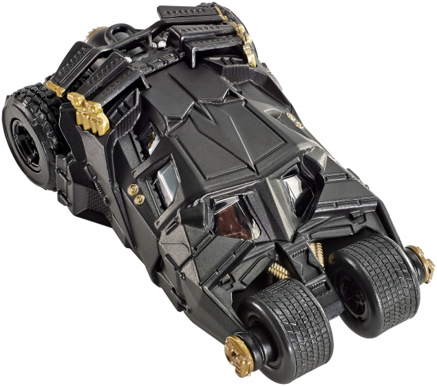 Hot Wheels Batman voertuigen: Batmobile Dark Knight 7 cm