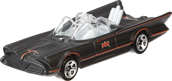 Hot Wheels Batman voertuigen: Classic Batmobile 8 cm