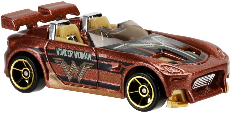 Hot Wheels Batman Voertuigen: Tantrum 7 cm