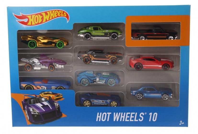 Hot Wheels 10 Car Giftpack