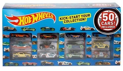 Hot Wheels cadeauset met 50 auto's