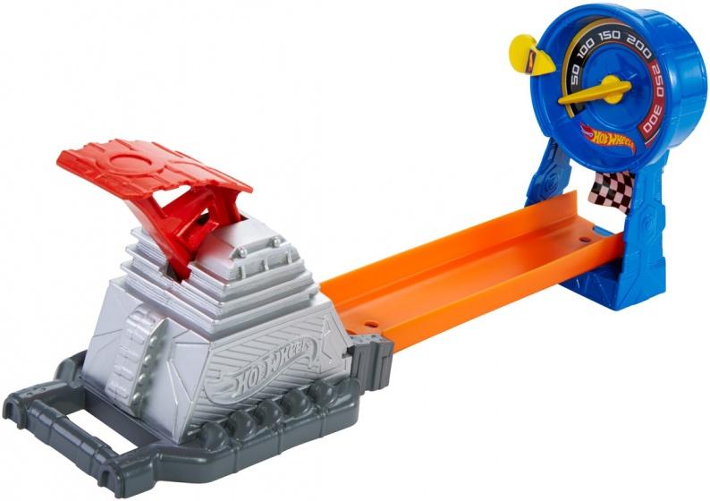 Hot Wheels Construction Race Gauge lanceerbaan