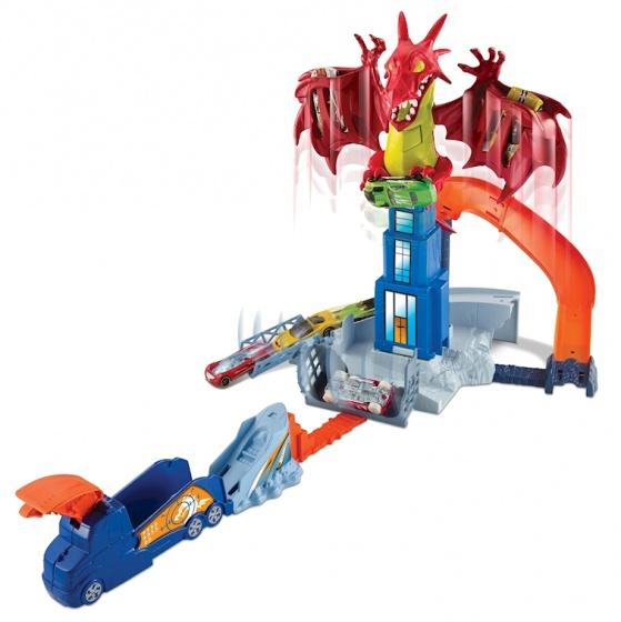Hot Wheels Dragon Blast lanceerbaan