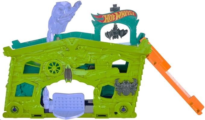 Hot Wheels Ghost Garage baanonderdeel 8 cm