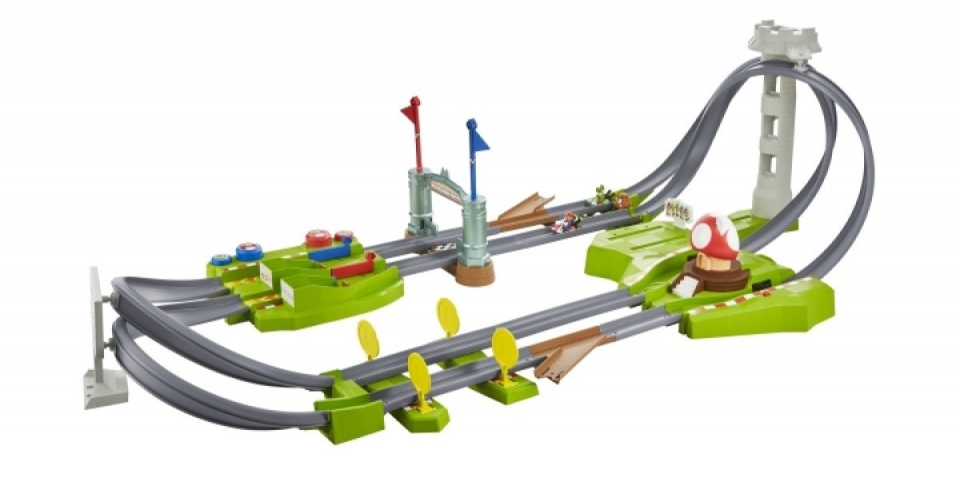 HW Mario Kart Mario Rundkurs Trackset