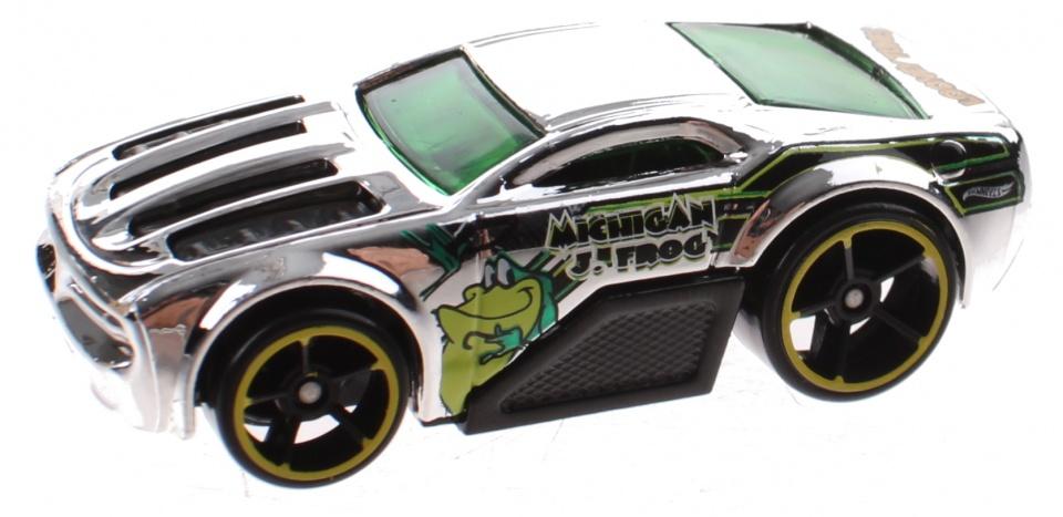Hot wheels Looney Tunes auto Horseplay zilver 6 cm