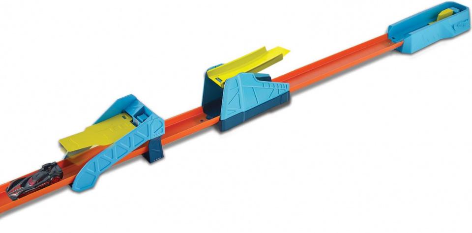 Hot Wheels Track Builder mega sprongen set