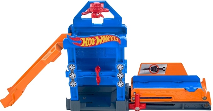 Hot Wheels Robo Lift baanonderdeel 8 cm