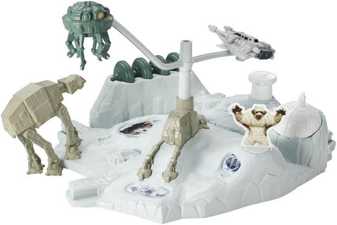 Hot Wheels ruimteschip Star Wars Hoth speelset