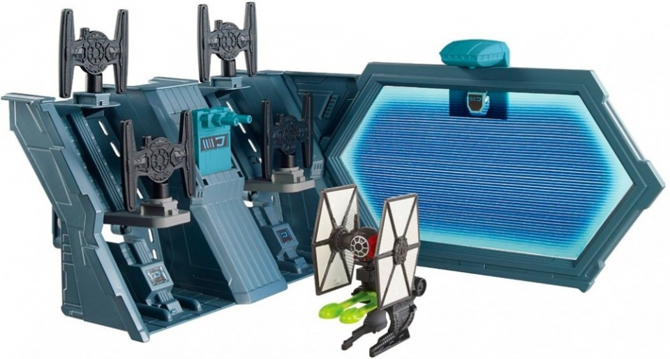 Hot Wheels ruimteschip Star Wars the Fighter speelset