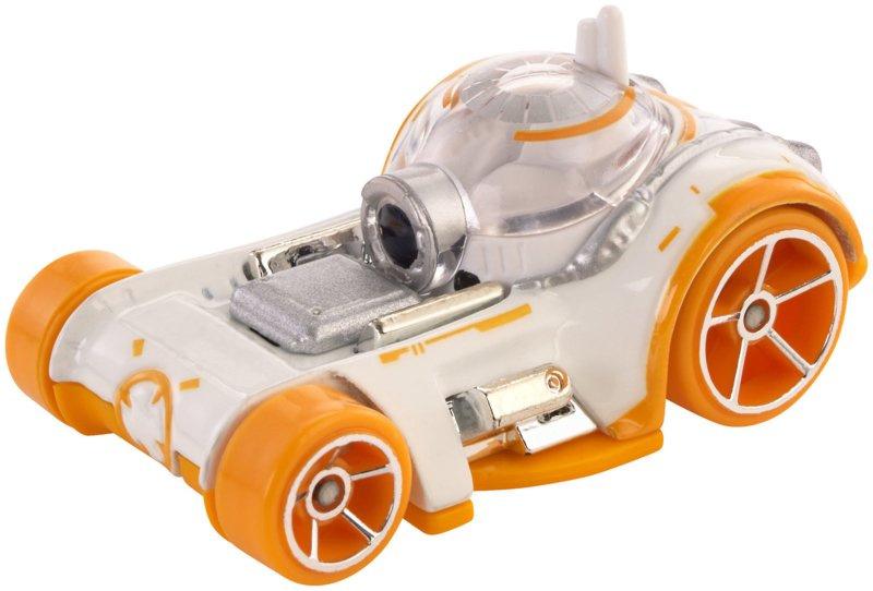 Hot Wheels voertuig Star Wars BB 8 diecast 7 cm wit-geel