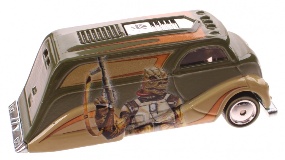 Hot Wheels Star Wars Deco Delivery 7,5 cm diecast groen