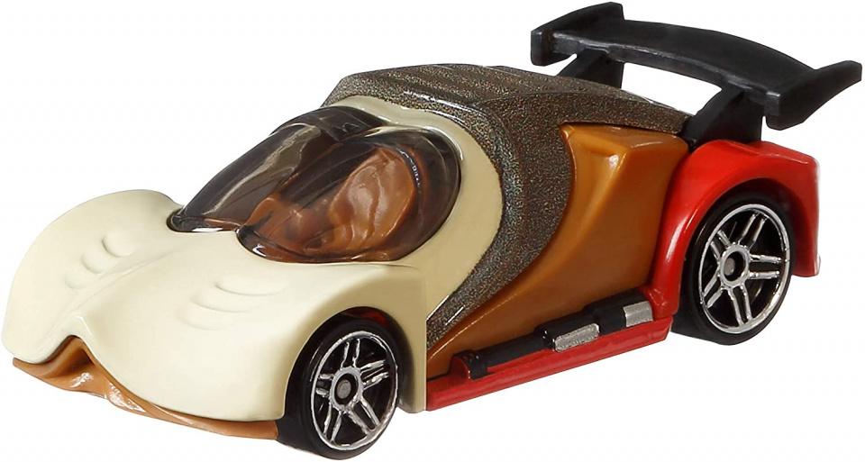 Hot Wheels voertuig Star Wars Nein Nunb 7 cm ivoorwit-bruin
