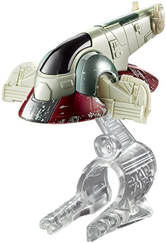 Hot Wheels Star Wars Slave I ruimteschip 8 cm