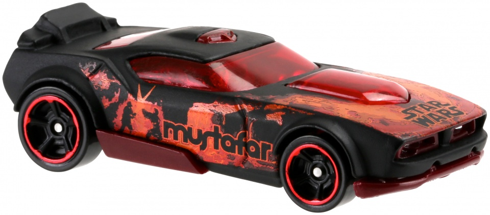 Hot Wheels Star Wars voertuigen: Mustafar 8 cm
