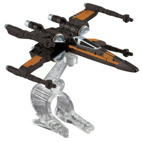 Hot Wheels Star Wars X wing Fighter ruimteschip 8 cm