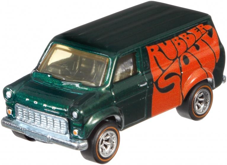 Hot Wheels The Beatles voertuig: Ford Transit Supervan 8 cm