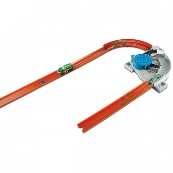 Hot Wheels Track Builder basisset met auto lanceerbaan