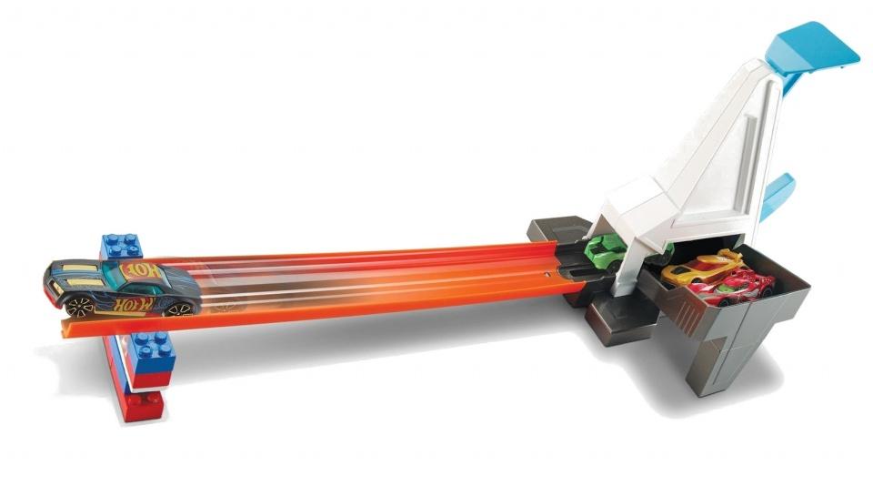 Hot Wheels Track Builder snelle lanceerder lanceerbaan