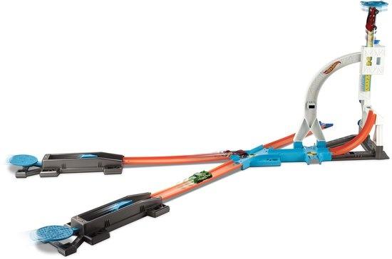 Hot Wheels track builder system kit lanceerbaan