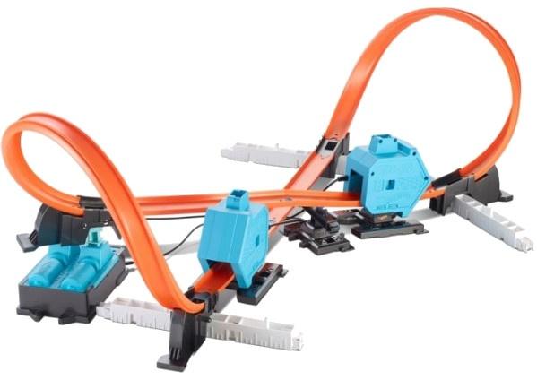 Hot Wheels Track Builder System Powerbooster Kit lanceerbaan