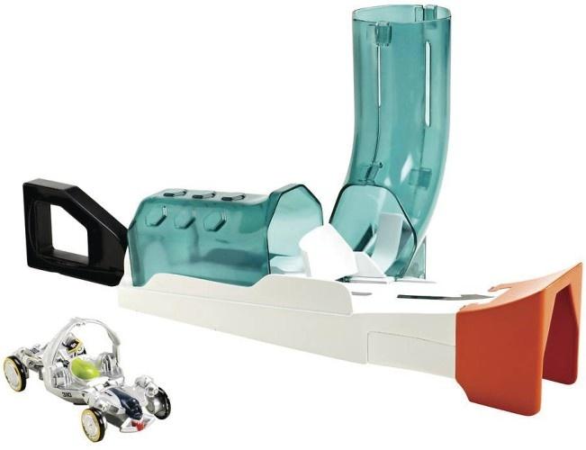 Hot Wheels Ballistiks Mortier Lanceerbaan junior wit/groen